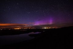 Lough Salt Aurora (Pearse Mac) Tags: aurora borealis donegal ireland wild atlantic way wildatlanticway dunfanaghy nikon d90 sigma colour color clouds creeslough