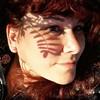 Pour l'amour de toi (nathaliedunaigre) Tags: autoportrait selfportrait femme woman soleil sun sourire smile carré square visage face redhead redhair ginger rousse rousseur natural naturelle