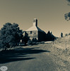 Tynwald Park Oast House 2 (mckenart) Tags: australia oasthouse newnorfolk hops derwentvalley tynewaldhouse tasmania monochrome