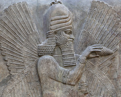 20170506_louvre_khorsabad_assyrian_8899r (isogood) Tags: khorsabad dursarrukin assyrian lamassu paris louvre mesopotamia sculpture nineveh iraq sarrukin