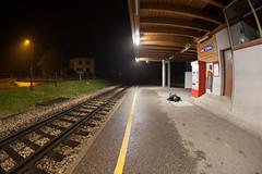 FDT #38 Rain, rain and more rain (EOS.5Dan) Tags: facedown tuesday 2017 canon5dmarkii canonef15mmfisheye fisheye switzerland suisse nyon vaud gare asse nstcm train station rain pluie