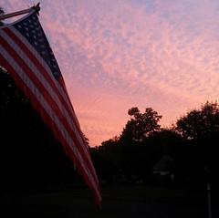 America the beautiful (SavannahP195) Tags: america sunset outdoor outdoors colors colorful usa flag american outside android