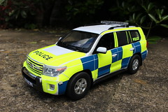 1/16 RC Code 3 Toyota Land Cruiser Traffic Police Patrol (Mike's Code 3 Models) Tags: 116 rc code 3 toyota land cruiser traffic police patrol radio controlled radiocontrolled rastar 114 tamiya truck cops pursuit motorway rpu