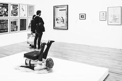 No Thanks, We'll Stand (Sean Batten) Tags: tatebritain london england unitedkingdom gb blackandwhite bw chair artgallery tate art nikon df 35mm gallery