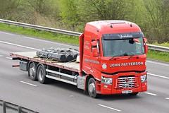 YX65 AWV (panmanstan) Tags: renault range wagon truck lorry commercial freight transport haulage vehicle m18 motorway langham yorkshire