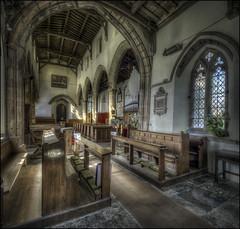 Newnhan Church Interior 2 (Darwinsgift) Tags: newnham church interior daventry northamptonshire hdr photomatix nikkor pc pce e 19mm f4 ed mf nikon d810