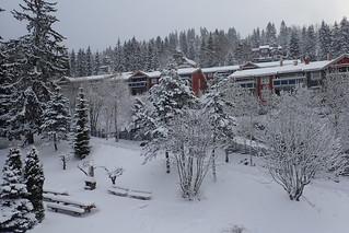 Winter in April in Oslo