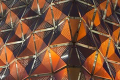 (ambeizzi) Tags: leeds lights car park university orange triangles