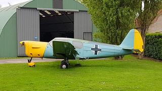 NORD N.1203 c/n 056 registration F-BEBU preserved at the