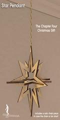 57455786  *~*HopScotch*~* Star pendant (TCF Gift) (moonierattyresident) Tags: star chain christmas gold hopscotch hanging art