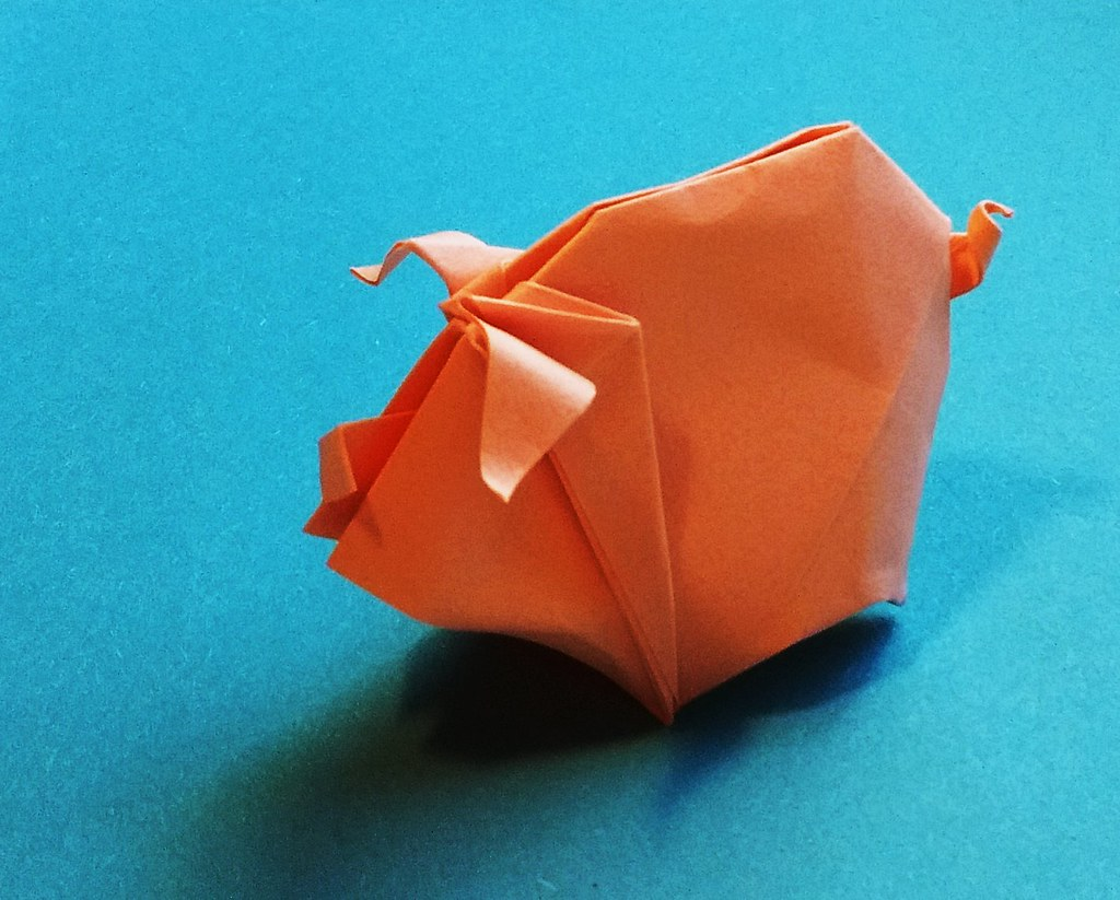 The World's Best Photos of origami and pig - Flickr Hive Mind - photo#18
