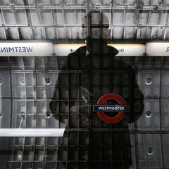 Day 131. Shadows of Westminster. (Rob Emes) Tags: selfie westminster g7xii canon reflection shadow square londonist tube underground city london may2017 3652017 365