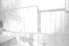 Rejas in high key (Gonzalo Campos Garrido) Tags: wall blackwhite bw blancoynegro silhouette shadows white outdoors vintage film 35mm analog filmphotography spain andalusia highkey