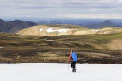 Jour d'élections : rêve d'Islande (Fabien Husslein) Tags: landmannalaugar islande iceland hiking paradise heaven mountains montagnes paysage landscape colours couleurs rhyolite snow neige glacier