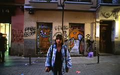 Malasaña, Madrid (marioandrei) Tags: nikon fm2n nikkor 20mm f28 fujifilm velvia 50 tribu tribunal madrid slide diapo diapositiva longexposure españa