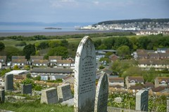 20170423-BB8A2463 (chrischampion2) Tags: view from old church of st nicholas uphill somerset viewfromoldchurchofstnicholas cemetery westonsupermare westonbay breandown birnbeckpier birnbeckisland oldpier pier listedbuilding listed grade2listedbuilding grade2listed buildingsatrisk building buildingsatriskregister