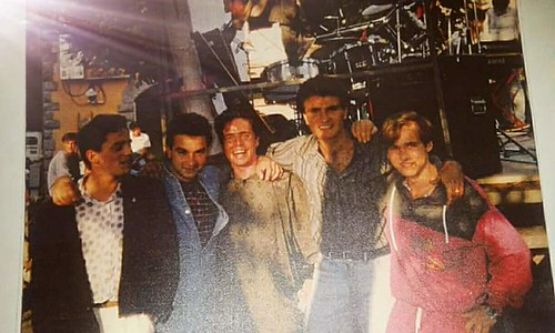 The figures #punk 🎸 #rock #sottosuolo #trastevere #musica #concerti #dalvivo #anni80 📼 #folkstudios #rome @giuseppecorniale #luigiperazzelli #italy  #80s #theoriuscampusband #elettritv @augustominori #music #live 🙌 #tibervalley @fr