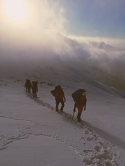 road to summit (bartudemirduzen) Tags: mountaineer climbing mountain alpinist