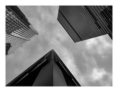 160505_0562_160505 184212_oly_S1_toronto (A Is To B As B Is To C) Tags: aistobasbistoc canada toronto ontario ca roadtrip travel olympus stylus1s bw torontodominioncentre ludwigmiesvanderrohe architect 1964 towerblock towers corner detail sky skyscraper