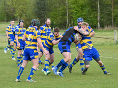 Oulton Raiders v Queensbury (Steve Barowik) Tags: yorkshire westyorkshire nikond500 barowik leeds ls26 stevebarowik sbofls26 rugbyleague rl nationalleague sigma150mmf28 sport competition try conversion penalty sinbin referee linesman ball pitch sticks posts team watercarrier dx cropframe kick pass offload dropkick forwardpass centre wing prop forward back fullback unlimitedphotos wonderfulworld quantumentanglement d500 oultonraiders queensburyarlfc
