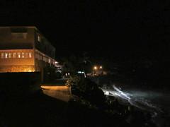 Atlantis Hotel and oceanfront at night, Bathsheba, Barbados (Paul McClure DC) Tags: bathsheba barbados westindies stjoseph caribbean apr2017 scenery hotel architecture