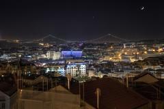 Lisbon at night (Zearil) Tags: d7100 nikon cityscape view portugal lisbon noche luces panorama vistas ruadamascenomonteiro noite lisboa
