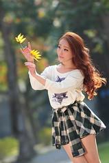 Lili1015 (Mike (JPG直出~ 這就是我的忍道XD)) Tags: lili 台灣大學 d300 model beauty 外拍 portrait 2014