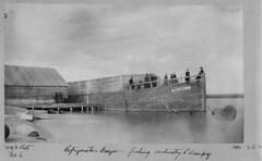 Lake Winnipeg - Sultana Refrigerator Barge, 1890  [LAC] (vintage.winnipeg) Tags: vintage history historic manitoba canada lakewinnipeg