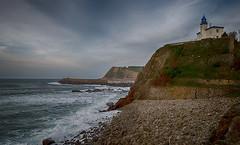 Faro de Zumaia (Mikhail Serbin) Tags: lighthouse basque faro cotedebasque ocean маяк spain atlantic