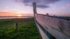 Sunset dreams x (Einir Wyn Leigh) Tags: landscape sunset beauty nature boat sunlight sunshine green happy water sea ocean coast wales cymru home silence warm may spring outside outdoors