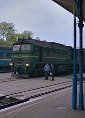 UZ 2M62U 0088 discussion Ivan Frankivsk 22th April 2017 (Dunks railway pix) Tags: івано–франківськ 2m62 ivanofrankivsk uz уз