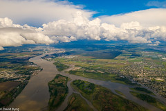 South Arm of the Fraser River (david byng) Tags: helijet fraserriver vancouver 2017 spring britishcolumbia city canada delta ca