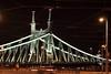 "Budapest H - ""Liberty Bridge"" (Lucchese Fabrizio) Tags: budapest night bridge brucke ponte notturno"