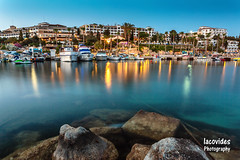 Coral beach hotel & resort (Andreas Iacovides) Tags: coral beach hotel marina harbor harbour seascape canon eos 5d mark iii dusk pafos paphos cyprus
