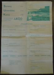 14. Somera Universitata Kurso Lieĝo (rotsaert8000) Tags: esperanto kortrijk afisho afishoj 2017 liège suk 1972