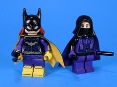 Batgirl and Spoiler (MrKjito) Tags: lego minifig super hero dc comics comic steaphine brown barbra gordon batgirl spoiler rebirth batman detecitve bat family