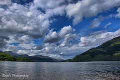 DSC_0004 -1awm (Polleepops) Tags: argyll lochlomond lochs clouds cloudporn bridges river water hills landscape