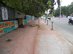 DSCN4194 (Santhosh ITDP) Tags: 2015 india chennai thiruvanmiyur west avenue bad after obstruction surface rework telephone cable improper