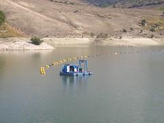 Дноуглубительные работы сборно-разборным земснарядом DRAGFLOW на глубинах 40 метров.