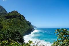 Kaui 242 DSC03776 (cpburt) Tags: kauai hawaii napalicoast kalalautrail hanakapiai beach vista