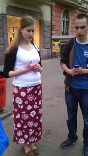25.04.2015 - Ewangelizacja uliczna w Katowicach