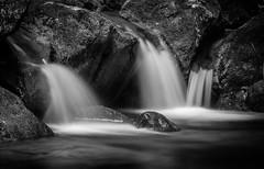 Isère - Georges du Nans. Long exposure - cascades - B&W - black & white (Jean-Philippe Le Royer) Tags: river ndfilter longexposure bw water landscape blackwhite waterfall cascades
