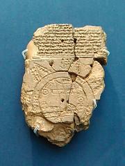 Babylonian Map of the World (Kevan) Tags: worldmap cuneiform britishmuseum