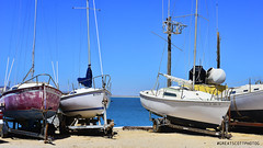 Waiting for summer. (Great Scott Photog) Tags: boat sailboat sailing sail water ocean sea bay gulf fishing boating sky summer spring blue mexico international vacation expat relax tranquil peace rockypoint chollabay puertopenasco