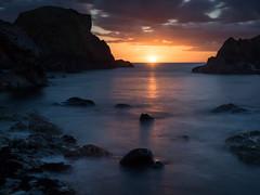 Ballintoy Sunset 1 (frcrossnacreevy) Tags: 2017 may ballintoy sunset longexposure bigstopper olympusem1 olympusmzuiko1240mmf28 tripod 1001nightsmagiccity 1001nights