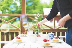 Swedish midsummer at its best (JosefineKphotography) Tags: midsummer canoneos5dmarkiii sweden swedishcountryside scandinavia summer table setting settingthetable canonef50mmf14 bokeh ef50mmf14 50mm ef50mm