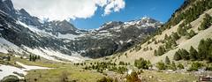 Barrosa valley (www.eidernet.com/eiderphoto) Tags: om2428 ilce7 sonya7 barrosa valley snow pyrenees pirineos huesca sobrarbe pano