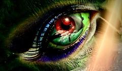 mystic eye (Stiller Beobachter) Tags: eye demon horror digital