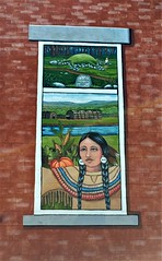 ONE OF FOUR PART OF MURAL (Visual Images1) Tags: hww windowwednesday mural montourfalls newyork