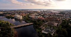 Tingvalla (krissen) Tags: dji inspire drone karlstad sweden sverige värmland aerial cityscape tingvalla klarälven city stad ccc karlstadconferencecentre karlstadstadsbibliotek vänern